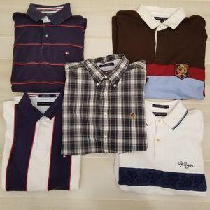 {XL} LOT of 5 Tommy Hilfiger Men's Shirts